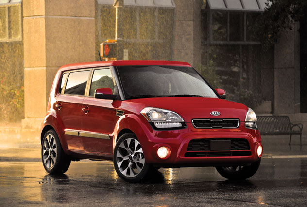 (Above): Exterior View Of The 2013 Kia Soul !