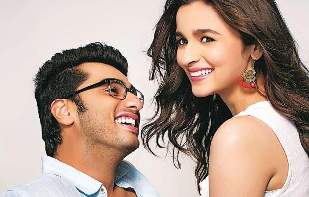 """Arjun Kapoor and Alia Bhatt in """"2 States."""""""